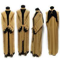 Femme Bout Ouvert Abaya.maxi Dress.burka.jilbab Saoudien Abaya Farasha Size-56