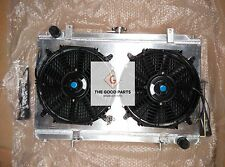 ALUMINUM RADIATOR+Shroud+FANS NISSAN 180SX/200SX/SILVIA RPS13/PS13/S14 SR20DET