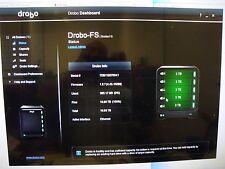 Drobo FS 5 Bay NAS 15 TB, W/ Qty 5 7200RPM Seagate 3TB  Drives
