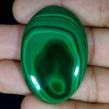 100% Natural Malachite Oval, Round Cabochon Loose Gemstone jaipurgems2016