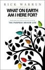 NEW What on Earth Am I Here For? Purpose Driven Life(Booklet) by Rick Warren