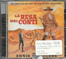 La Resa dei Conti - Ennio Morricone - Film Score Soundtrack CD - New - Sealed
