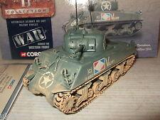 CORGI cc51005 char sherman m4 a2, armée française, 3e peleton, 4e escadron, 1:50.