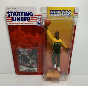 1994 Shawn Kemp Seattle Supersonics Starting Lineup Figure Warmup Pose