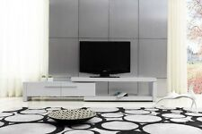 Hi-Gloss Lowline Tv Entertainment Unit Cabinet - Extendable 1.6M - 2.5M RRP$1119