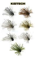 Keitech Tungsten Mono Spin Jig 3/32 Oz Bass Fishing Jig & Walleye Fishing Lure