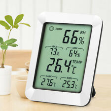 New Electronic Temperature & Hygrometer Digital Display Living Room Office ABS