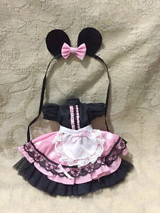 """Handmade  """"mickey mouse"""" custome for Barbie"""