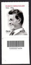 Italia 2014 : Enrico Berlinguer - con codice a barre, MNH**