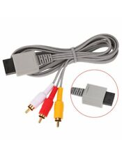 Cable Audio Video A/V - RGB Pour Console Wii, Compatible Wii U