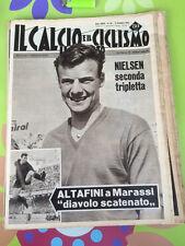 IL CALCIO E IL CICLISMO  ILLUSTRATO 1963 N° 50 Bologna Nielsen   23/6