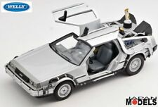 DELOREAN TIME MACHINE BACK TO THE FUTURE II 2 - Ritorno al Futuro Welly 1/24 New