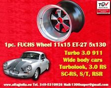 1 Cerchio Porsche 911 11x15R ET-27 Turbo 3.0/3.3 RSR style Felge Wheel TUV jante