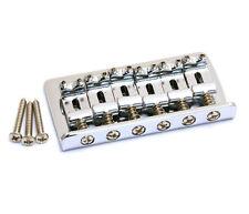 Chrome Fixed Guitar Bridge for Hardtail Fender Stratocaster/Strat® SB-0100-010