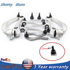 12x Front Rear Control Arm Kit&Ball Joint 12MM Fit For 08-16 Audi A4/5 Rs4 Q5 S5