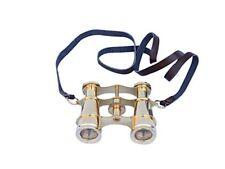 4 inches Vintage Solid Brass Binoculars -Vintage Nautical Decor Binoculars
