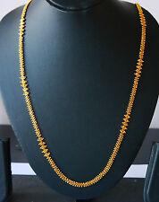 Kapa 22 K Oro Placcato Catena Collana Lunga Indiano Gioielli dall'aspetto reale