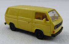 VW Bus Transporter GIALLO CHIARO Herpa 1:87 h0 senza imballaggio originale [go7]