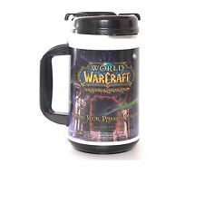 World of Warcraft Plastic Insulated Mug Dark Portal New Never Used Blizzard Game