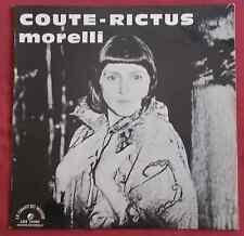 MONIQUE MORELLI   LP    COUTE - RICTUS