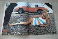 Autozeitung 10785) Porsche 911 T targa mit 125PS in einer seltenen Vorstellung