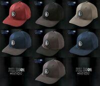 New Volcom Quarter Stretch Fit Mens Cap Hat