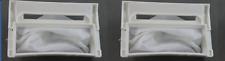 2x LG Washing Machine Lint Filter Bag WF-T556 WF-T655A WF-T656 WF-T755A WF-T855A