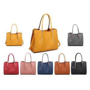 Craze London Women Faux Leather Large Shoulder Tote Bag Designer Bag