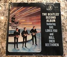 The Beatles -Second Album 1964 Odeon ‎ZTOX 5558 German Jacket/Vinyl VG+US Seller