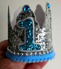 Handmade   Babys 1st Birthday Party Glitter Crown