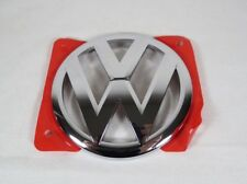 VW BEETLE HOOD EMBLEM 12-18 FRONT NEW GENUINE OEM CHROME BADGE sign logo symbol