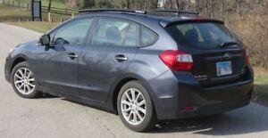 Fits 2012-2016 Subaru Impreza 5 DR,Side Roof Rails,Rack,Black Powder Coated, SSD