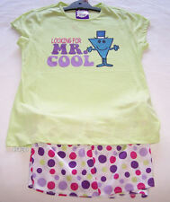 Little Miss Ladies Green Mr Cool Pyjama Set Size 12 New