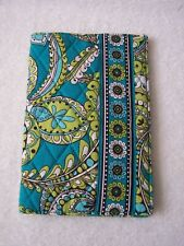 Vera Bradley Peacock, Teal & Green , Paperback Book Cover, New with Tags