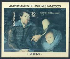 Nicaragua 1978 Mi. Bl. 103 Neuf ** 100% ** Rubens, Art, Daipinti