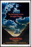 NIGHTWING MOVIE POSTER N. Mint  Folded 27x41 Advance Style 1979  Kathryn Harrold