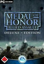Medal of Honor Allied Assault Deluxe * ottime condizioni