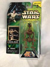 Disney Star Tours Wars WEG-1618 Droid 2002 Power of the Jedi Hasbro NR MINT MOC