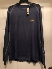 MENS NWT TOMMY BAHAMA DOUBLE EAGLE CREW NFL CHARGERS L S SHIRT SIZE XL   b6f2cbbd2