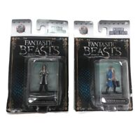 "Fantastic Beast Tina Goldstein & Newt Scamander 2"" Nano Metalfigs Figures NEW"