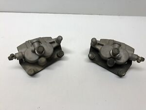 04-09 Yamaha Yfz450 Yfz 450 Front Right Left Brake Calipers Pads Stop OEM 2007 2
