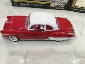 American Muscle Authentics 1:18 '50 Oldsmobile Rocket 88 Diecast - #29 of 750