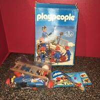 Playmobil Klicky Construction Workers Original Box Excellent Condition