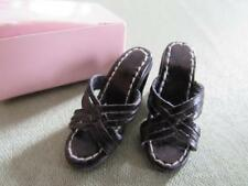 NIB KINGSTATE Shoes - Black Sandal Heels for Tonner, Tyler Wentworth & Friends