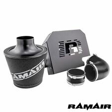 Ramair Ford Focus ST225 mk2 Black Induction Air Filter Intake Kit RS ECU Bracket