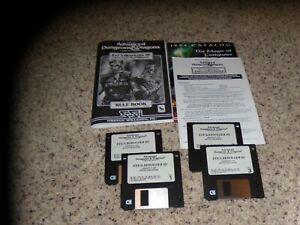 "Eye of the Beholder III Assault on Myth Drannor IBM PC Game on 3.5"" disks"