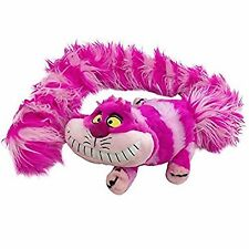 Disney Alice In Wonderland Cheshire Cat Larga Cola-Stole Boa Bufanda Muñeco De Peluche