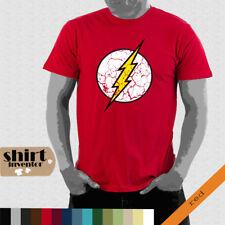 Flash Logo T-Shirt The Big Bang Theory Bazinga T-Shirt Fun bis 5XL TD023