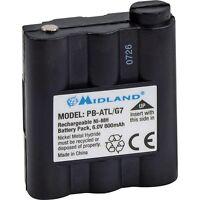 New Original Midland G7 Pacific Atlantic Radio PB-ATL/G7 6.0V 800mAh Battery