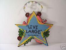 INSPIRATIONAL SIGN PLAQUE LIVE LARGE SHELIA'S